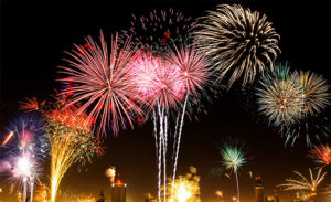 fajerwerki nowy rok
